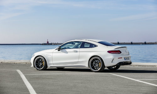 2019 Mercedes Benz Mercedes Amg C 63 S Coupe Exterior White Coat
