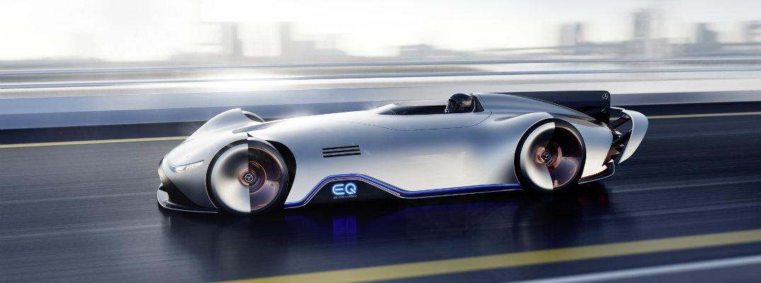 Mercedes Benz EQ Silver Arrow Exterior, Interior, And Zero Emission Features
