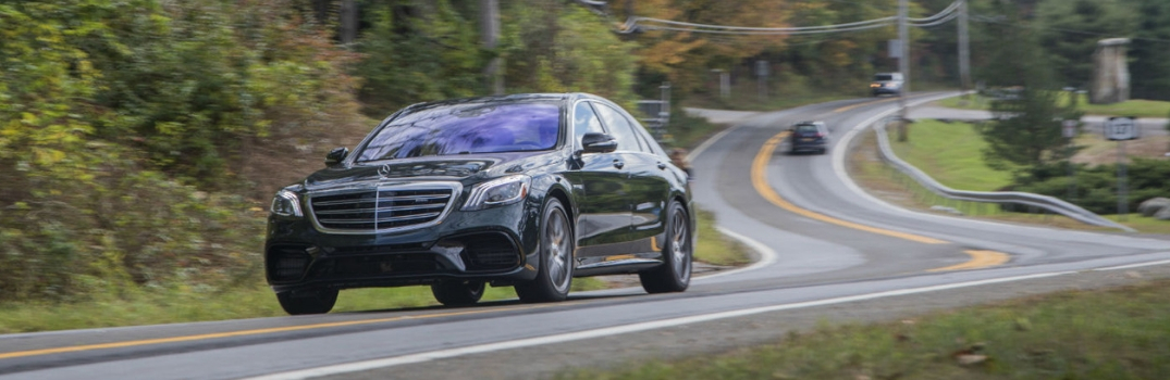 2018 Mercedes-Benz S-Class used to represent 2019 model