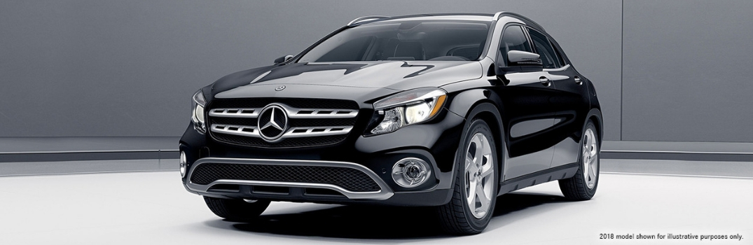 2018 Mercedes-Benz GLA used to represent 2019 model