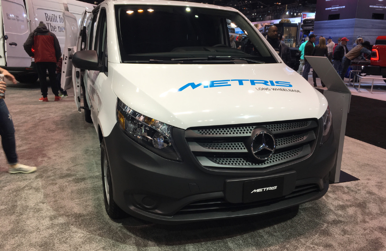Mercedes Benz Sprinter On Display