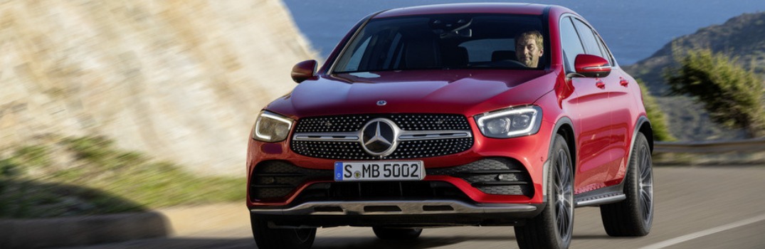 New Mercedes-Benz GLC redesigned front exterior
