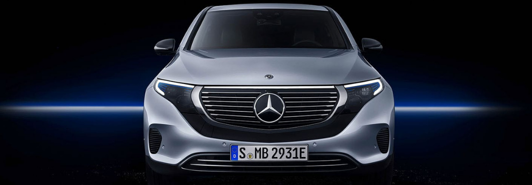 2020 Mercedes-Benz EQC parked front view
