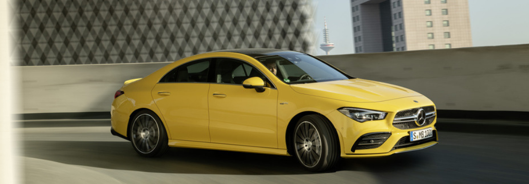 New Information Released on the Mercedes-AMG CLA 35