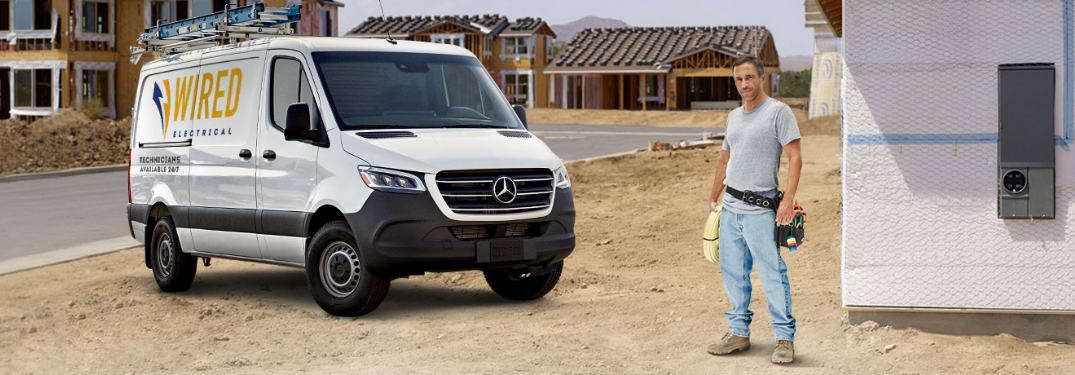 2019 Mercedes-Benz Sprinter parked outside