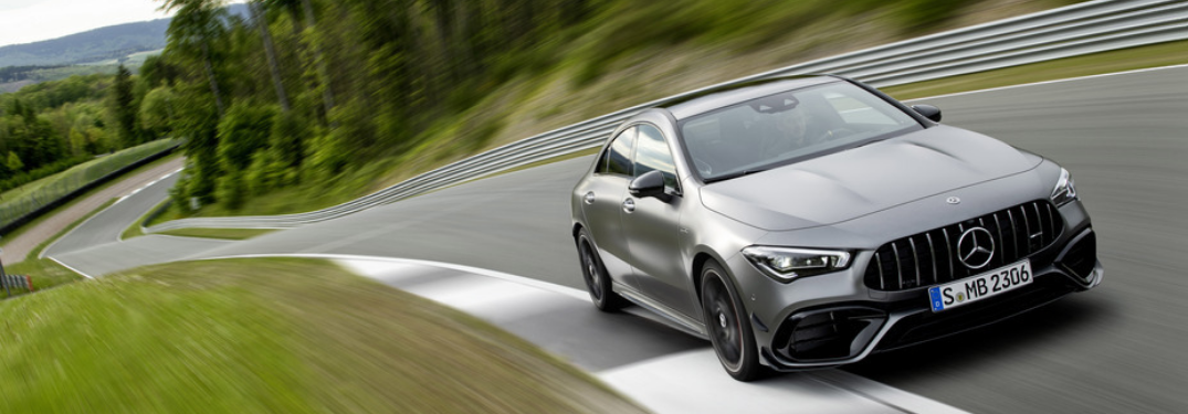 What's new with the Mercedes-AMG CLA 45?