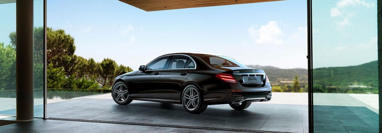 2020 Mercedes-Benz E-Class parked outside