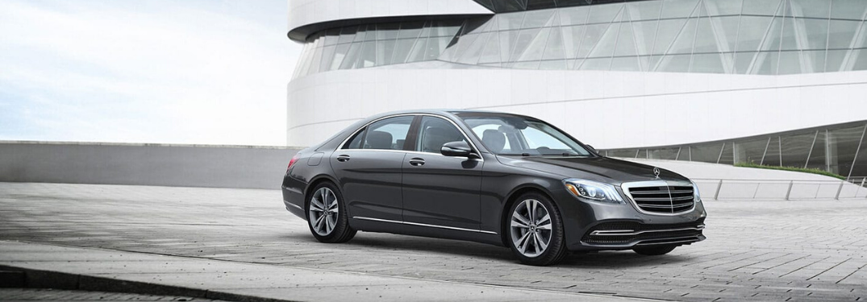 2020 Mercedes-Benz S-Class sedan parked outside