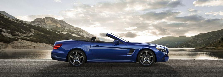 2020 Mercedes-Benz SL parked outside