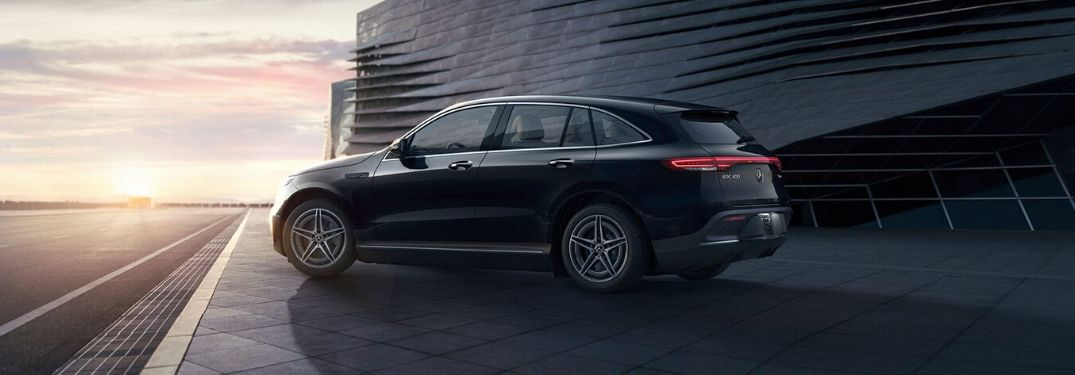 2020 Mercedes-Benz EQC from exterior rear drivers side