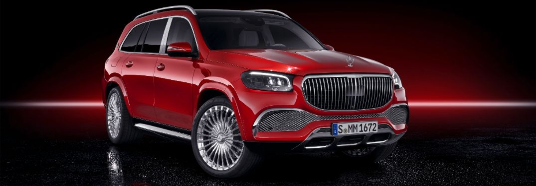 2020 Mercedes-Maybach GLS from exterior front