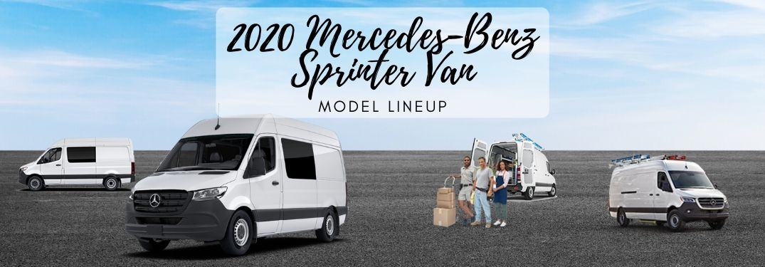 Check Out the 2020 Mercedes-Benz Sprinter Van Lineup!