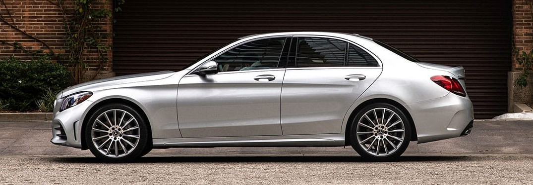 2020 Mercedes-Benz C-Class 300 4MATIC from side