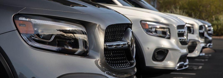 2020 Mercedes-Benz GLB front grilles