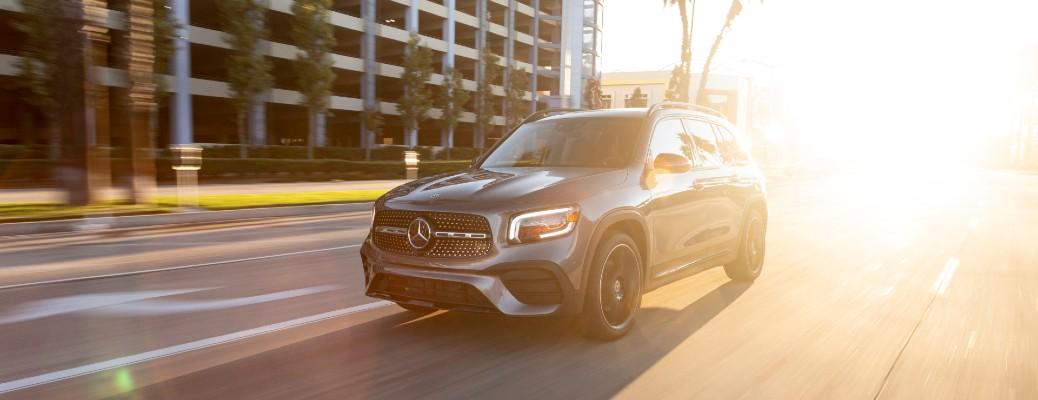 2020 Mercedes-Benz GLB on road