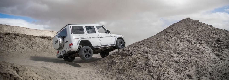 2020 Mercedes-Benz G-Class on hills