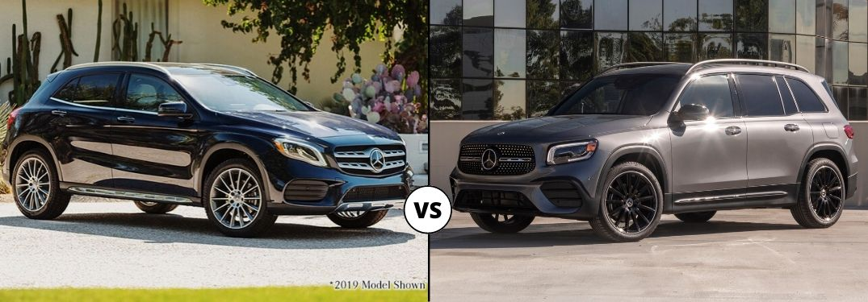 2020 Mercedes-Benz GLA vs 2020 Mercedes-Benz GLB