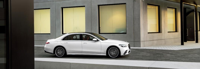 2021 Mercedes-Benz S-Class from exterior passenger's side