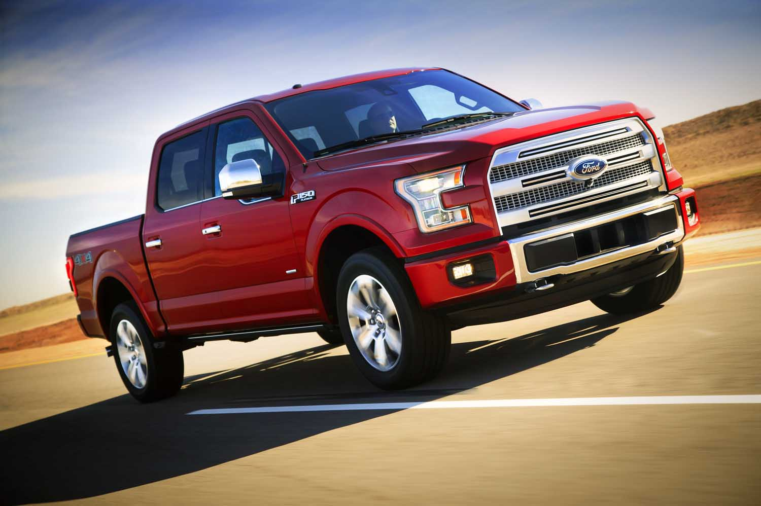 Enter to win a chance to test the new ford f 150 2015 ford f 150 platinum