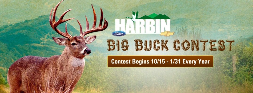 6th Annual Harbin Big Buck Contest Now Underway!