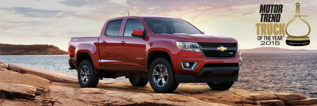2015 chevy colorado named motor trend truck of the year. Black Bedroom Furniture Sets. Home Design Ideas