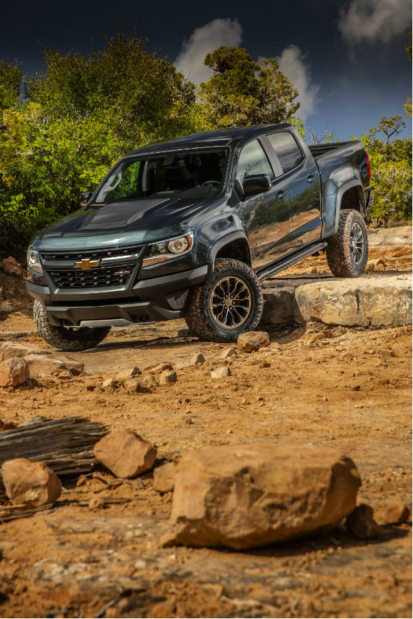 Chevrolet Colorado Zr Offroading O on Duramax Cylinder Numbers