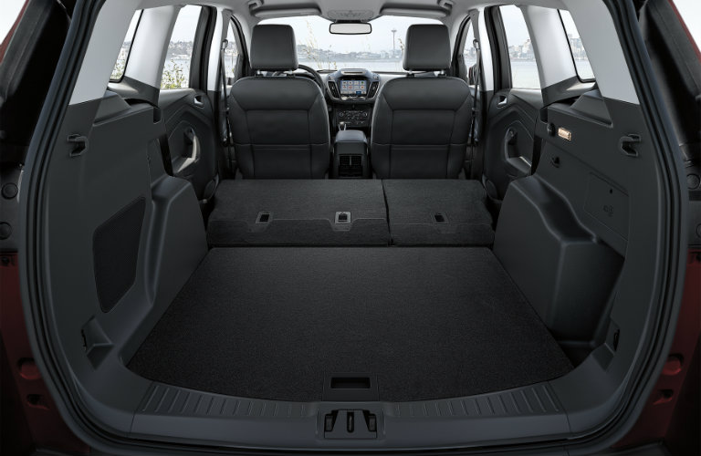 Ford Escape Offers Practical Towing Interior  Ford Edge Cargo Area_o