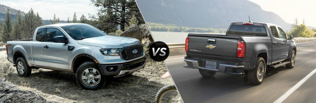 2019 Ford Ranger vs 2018 Chevy Colorado