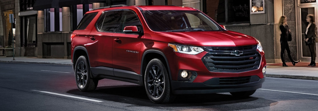 full view of 2019 traverse
