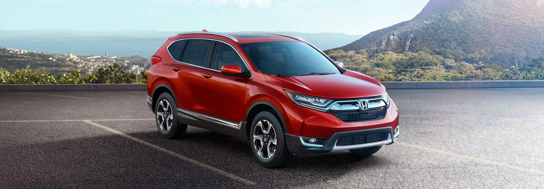 Color Options for the 2017 Honda CR-V