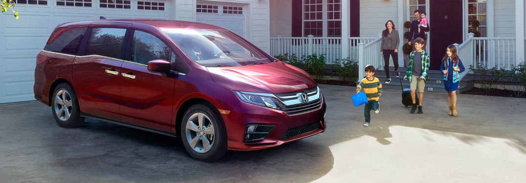 What Colors Does the 2018 Honda Odyssey Come in?