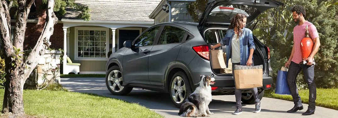 How Much can you fit in the 2018 Honda HR-V?