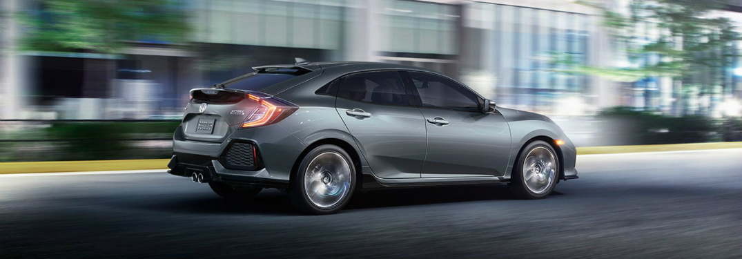 View the Photo Gallery of Available Colors for the new Civic Hatchback