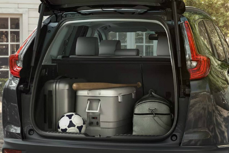How much cargo space does the 2018 honda cr v have for Honda hrv cargo space