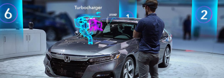 2018 Honda Accord on display at 2017 LA Auto Show