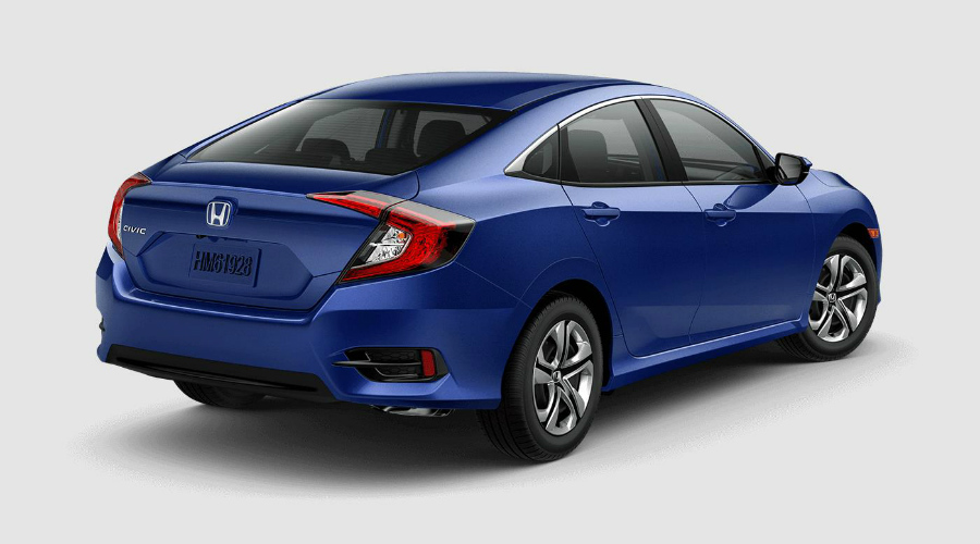 Aegean Blue 2018 Honda Civic In