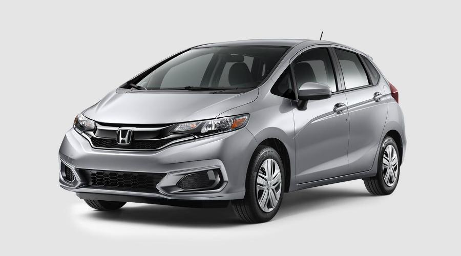 2018 Honda Fit in Lunar Silver Metallic