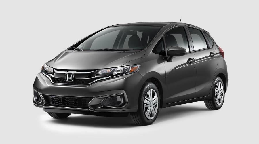 2018 Honda Fit in Modern Steel Metallic