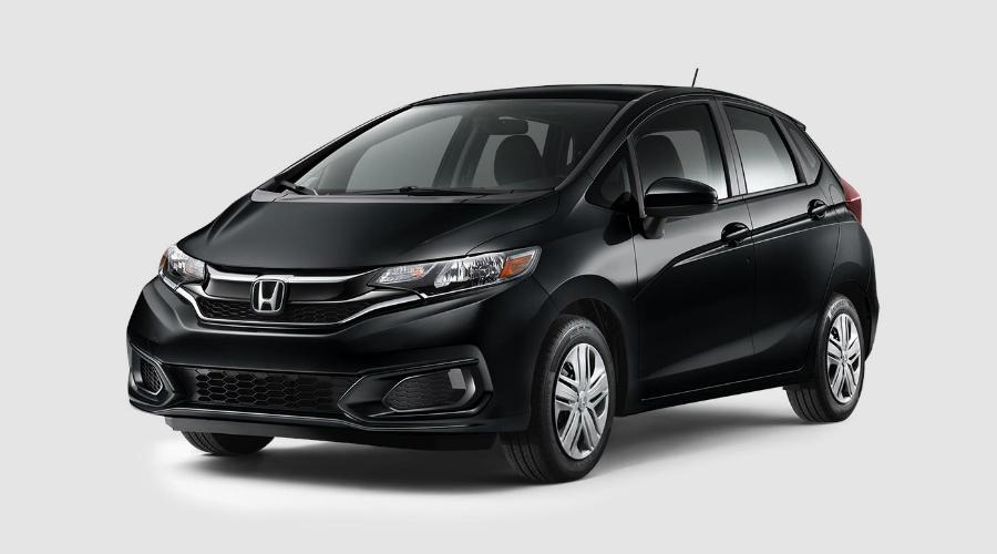 2018 Honda Fit in Crystal Black Pearl