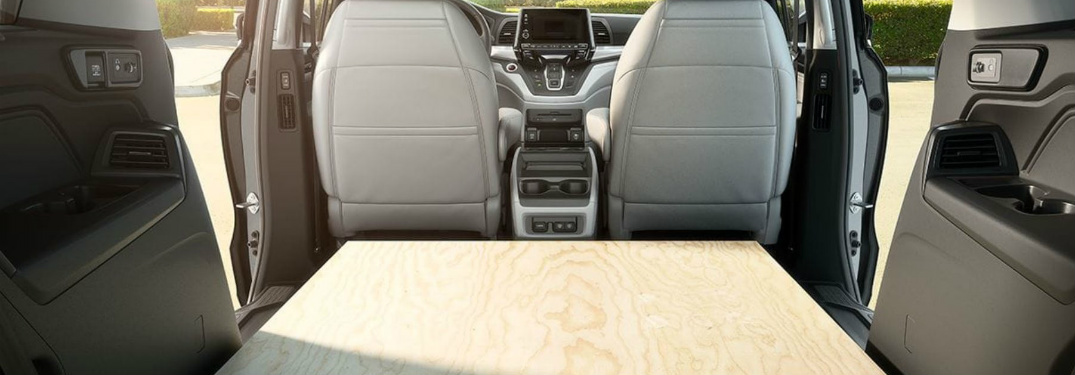 See how Much Cargo Space the new Odyssey Offers