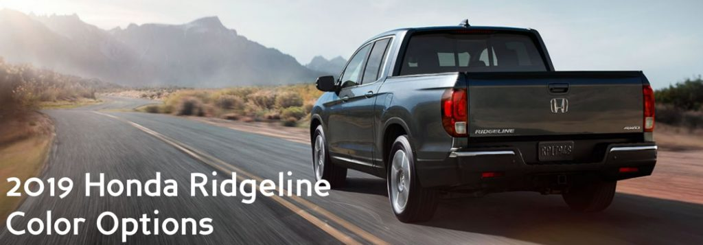 color options for the 2019 honda ridgeline color options for the 2019 honda ridgeline