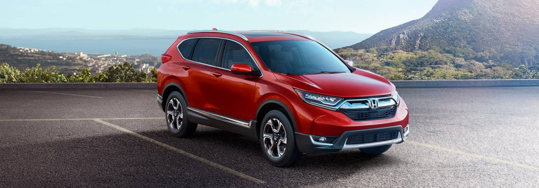 Check out the Engine Options with the new CR-V