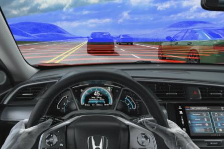 Adaptive Cruise Control in Honda Sensing
