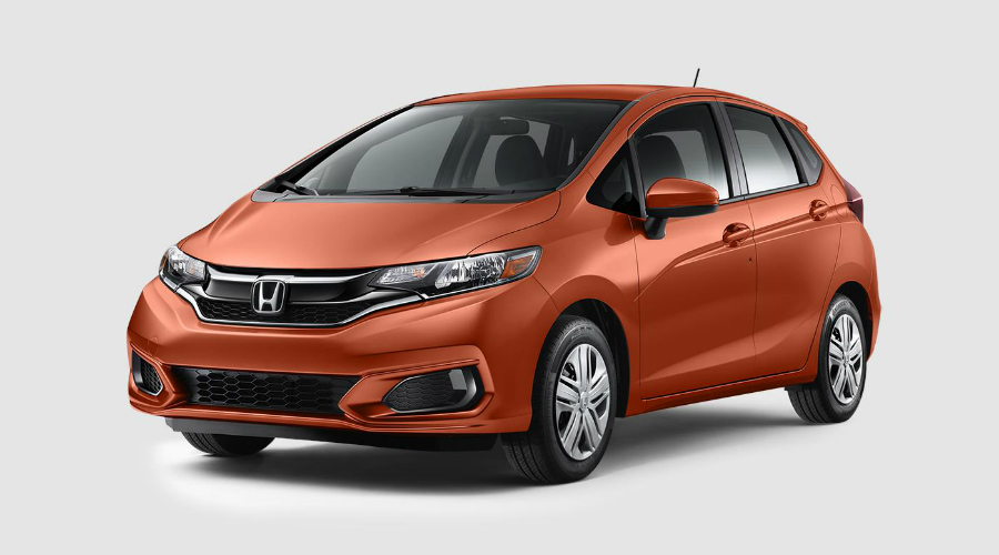 Orange Fury 2019 Honda Fit In