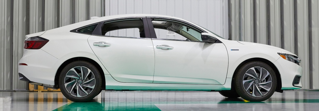 2019 Honda Insight at the Indiana production plant