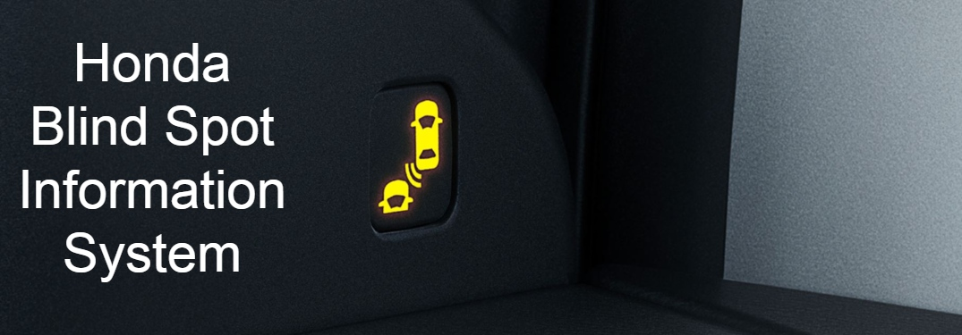 Honda Blind Spot Information System text next to BSI icon