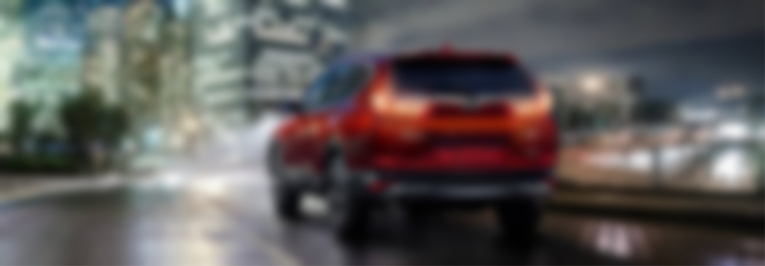 Blurred image of 2018 Honda CR-V