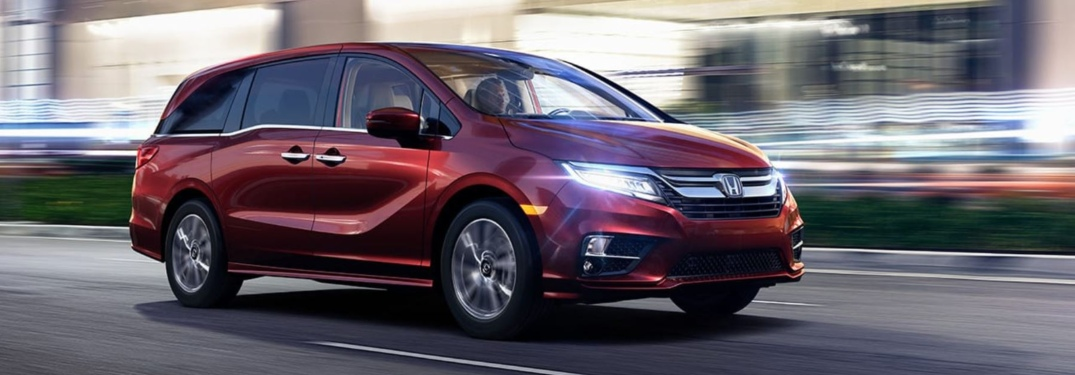 Photo Gallery of Exterior Colors for new Odyssey