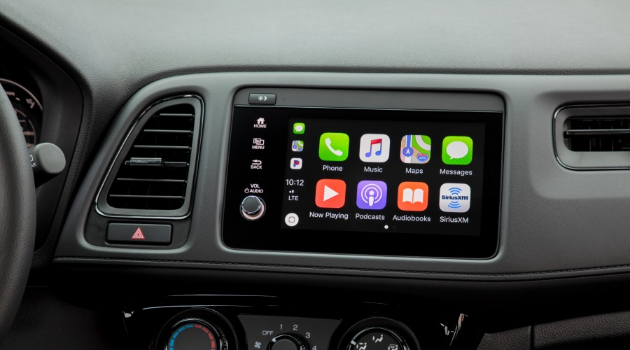 Infotainment system in the 2019 Honda HR-V
