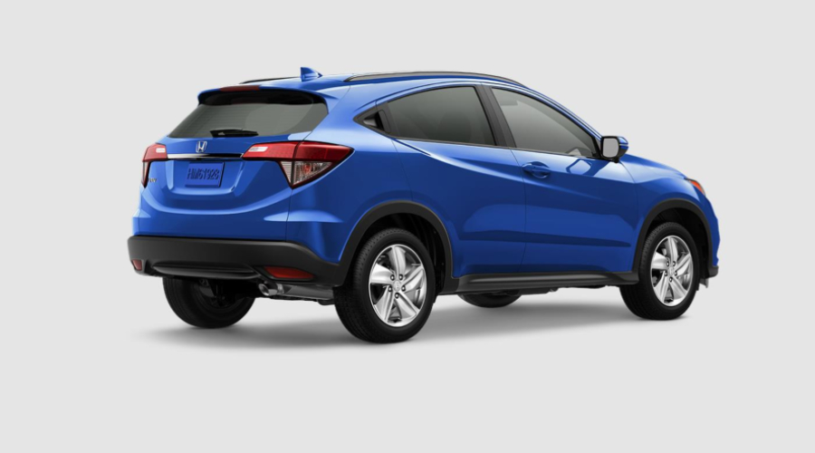 2019 Honda HR-V in Aegean Blue Metallic